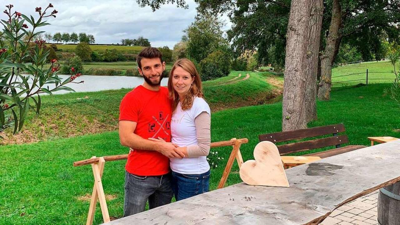 Bjarne Binder und Marion Fischer musst...ges Fest in aller Eile umdisponieren.   | Foto: privat