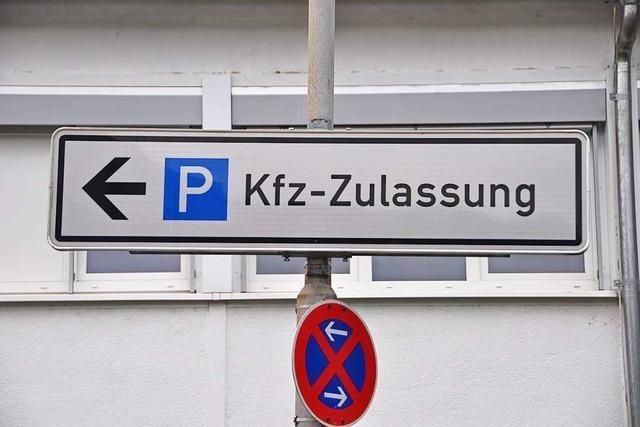 Kfz-Zulassung im Kreis Lörrach arbeitet weiter am Anschlag