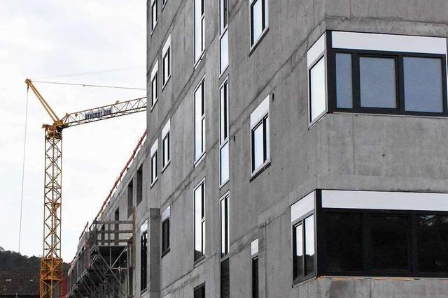 1250 Wohnungen sind das Halbzeitergebnis der Lörracher Wohnbauoffensive