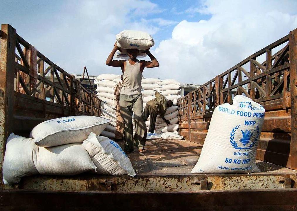 Das Welternährungsprogramm WFP hilft in 88 Ländern.  | Foto: Uncredited (dpa)