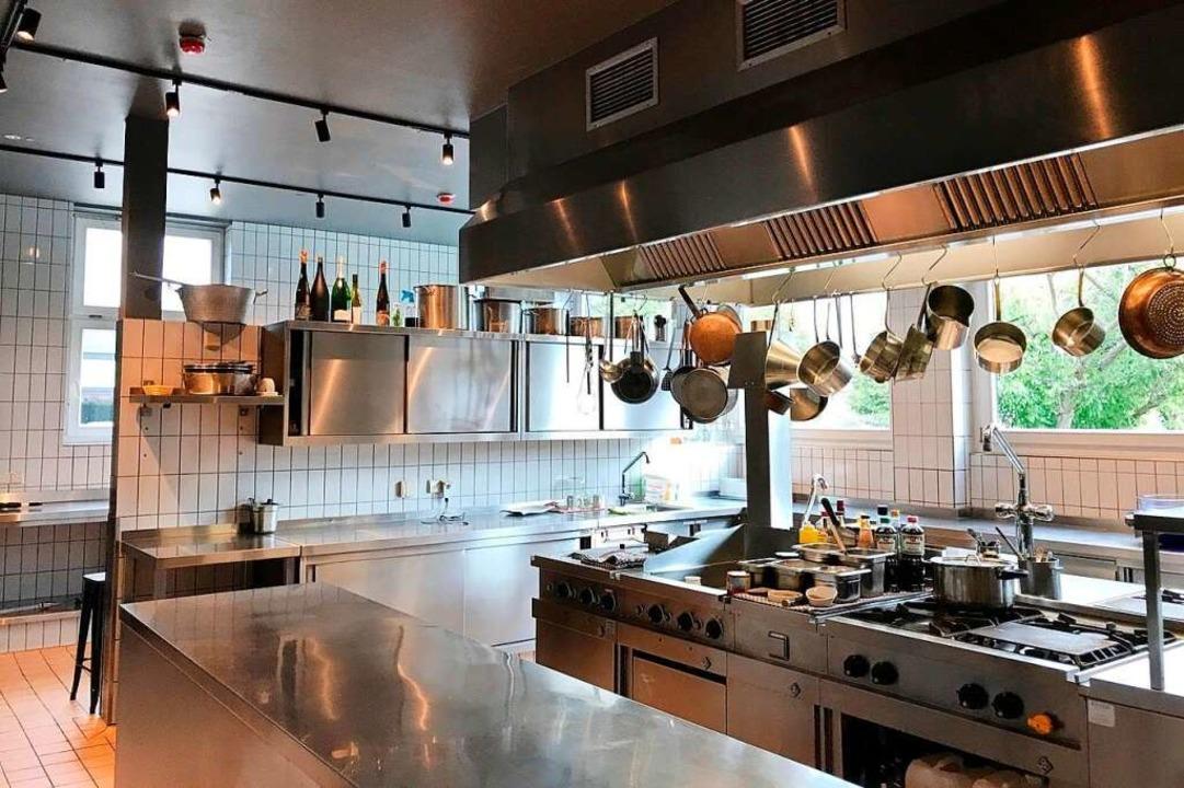 Hier ließe sich glatt eine Kochshow drehen  | Foto: Markus Donner