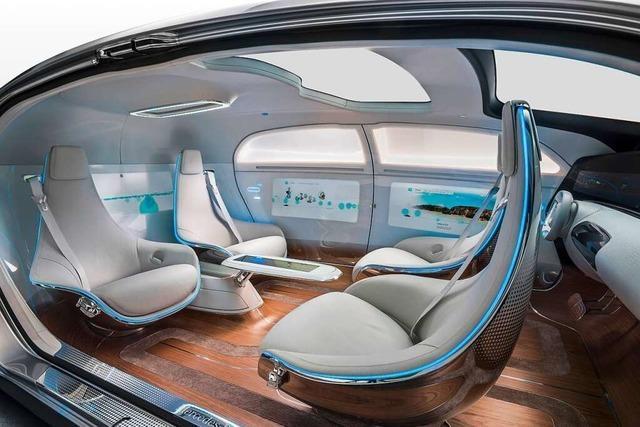 Wie sieht es im Auto der Zukunft aus?