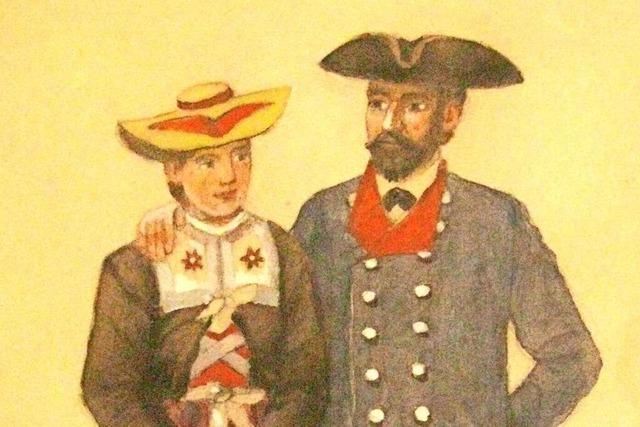 Die Tracht wird in Münstertal nur an Festtagen getragen