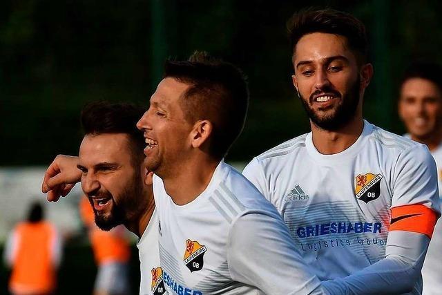 SV 08 Laufenburg feiert 7:1-Kantersieg gegen SV Ballrechten-Dottingen