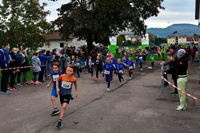 230 Läufer aus der ganzen Region gingen beim Südwestzipfellauf an den Start
