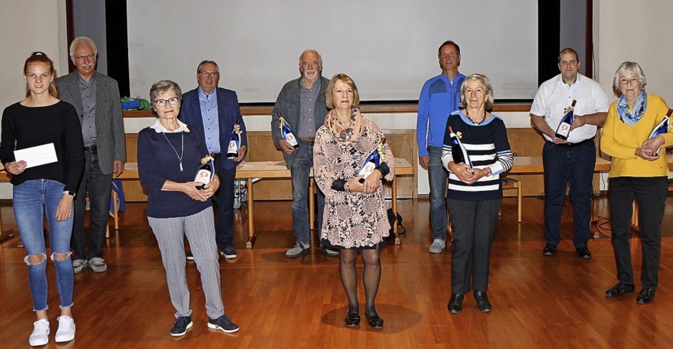 Verdienstvolle und erfolgreiche Mitgli... in seiner jüngsten Jahresversammlung.  | Foto: Helmut Hassler