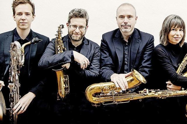 Bachs Cembalo im Saxophon-Sound