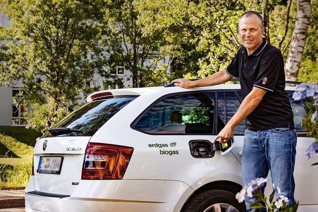 Welche Erfahrungen macht ein Waldkircher mit Bio-Erdgas?