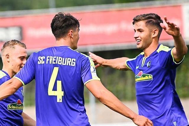 Marvin Pieringer sichert der Zweiten spät den Sieg in Hoffenheim