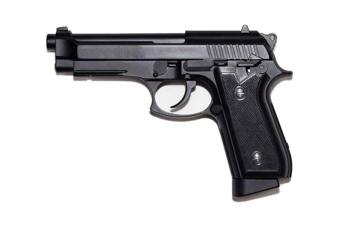 Eine Beretta M9 ist für viele in Rifle...ändlich wie Autoschlüssel oder Handy.   | Foto:  tivoly