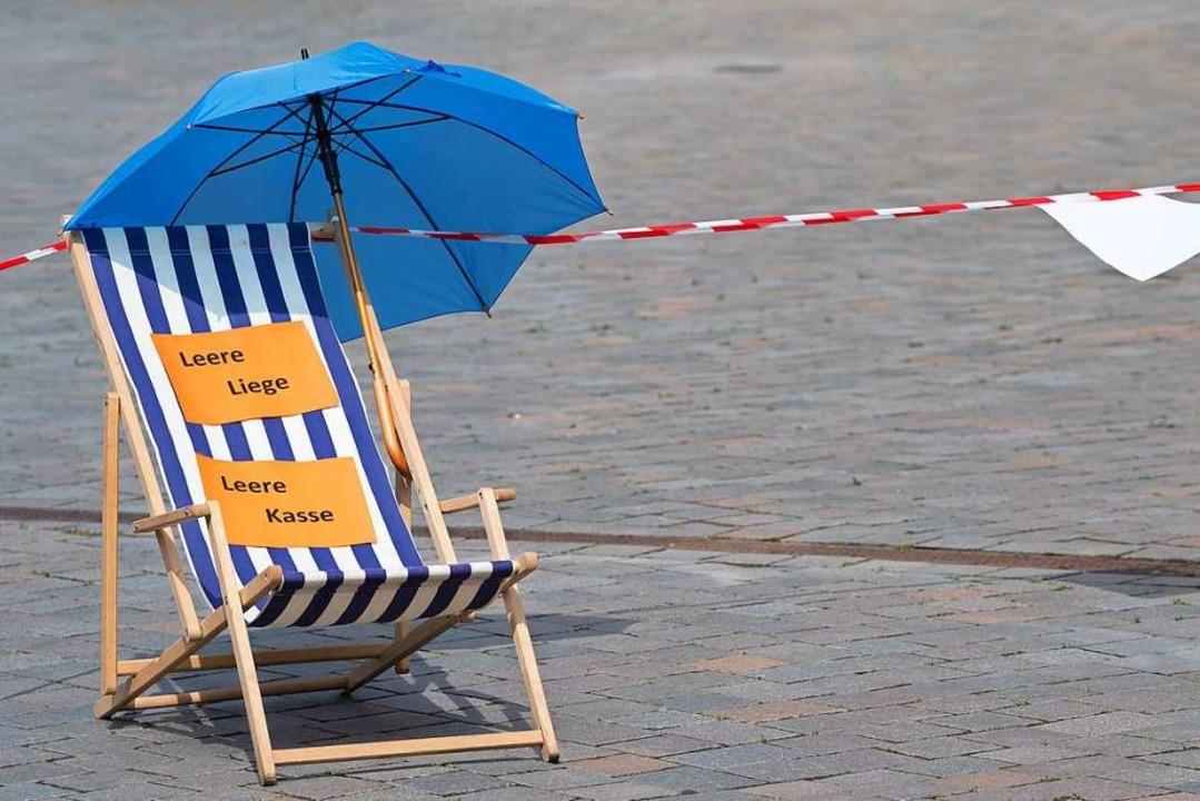 In den Strandkorb nur mit negativem Coronatest?  | Foto: Soeren Stache (dpa)