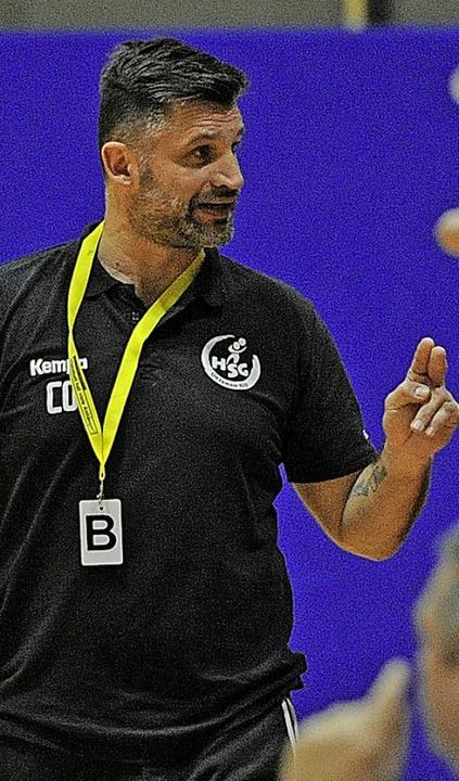 Aurelijus Steponavicius nahm mit der H...d  eine empfindliche Niederlager hin.   | Foto: Pressebüro Schaller