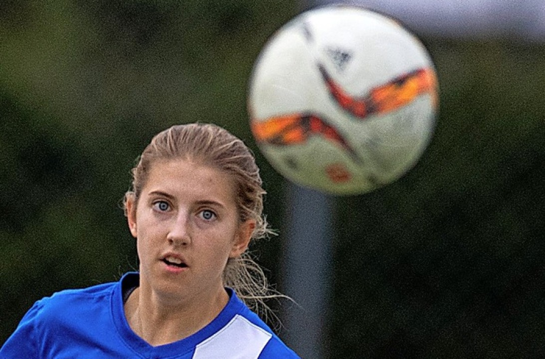 Amanda Nünninghoff erzielte zwei Treff...im Titiseer 8:0-Erfolg in Grüningen.    | Foto: Wolfgang Scheu