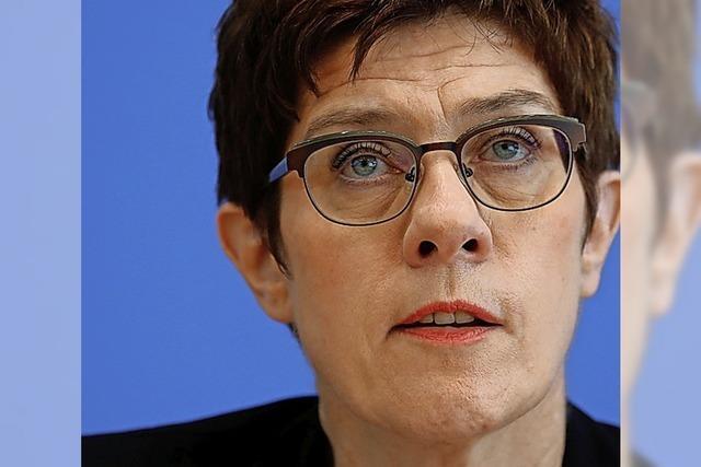 Ministerin soll Gewehr-Panne aufklären