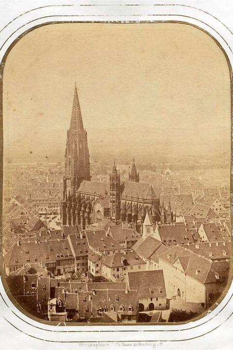 Das erste erhaltene Foto des Münsters.  | Foto: Augustinermuseum (Gottfried Theodor Hase)