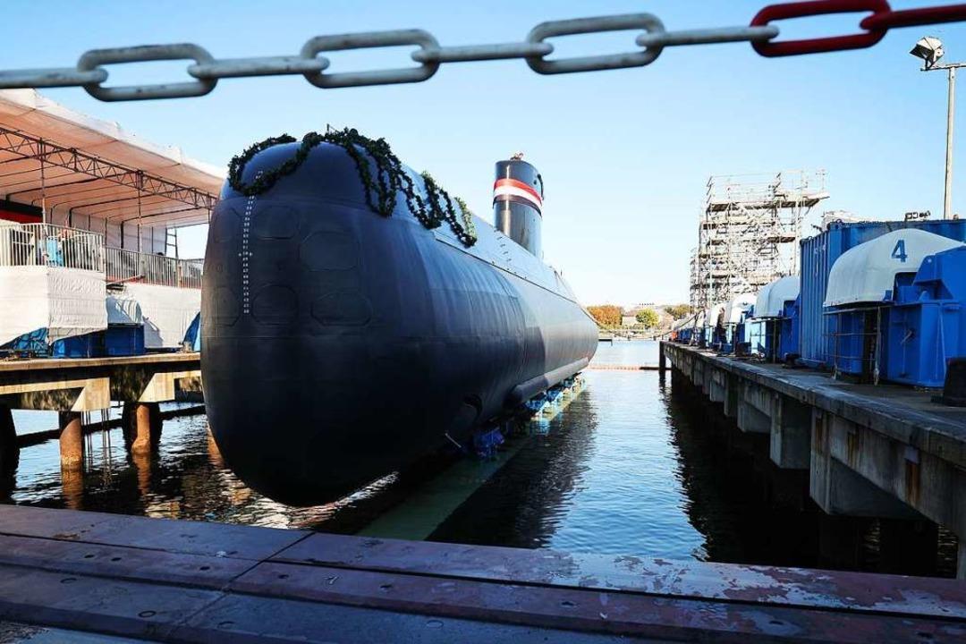 Deutsche U-Boote für Ägypten    Foto: Christian Charisius (dpa)