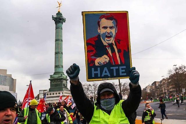 Frankreichs politische Fassade als Zentralstaat bröckelt