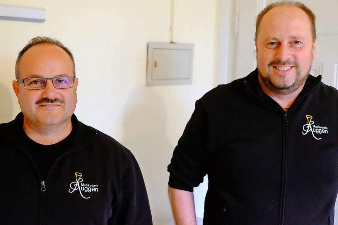 Tobias Meier (rechts) ist neuer Vorsit... Markus Bauer ist sein Stellvertreter.  | Foto: Martin Pfefferle