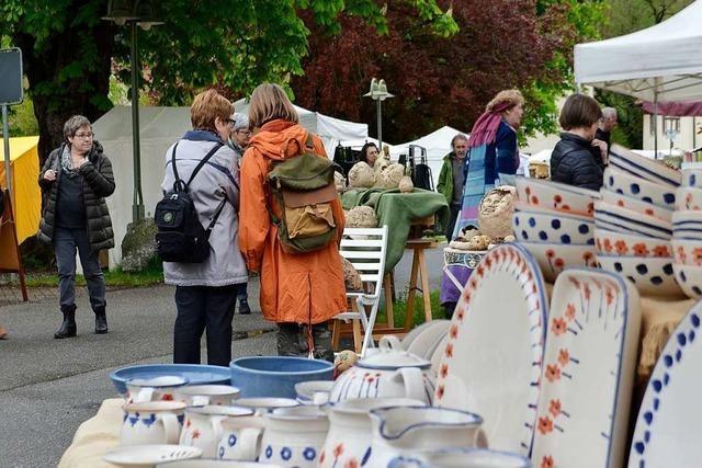 Der Töpfer- und Künstlermarkt auf Schloss Beuggen findet erstmals im Herbst statt
