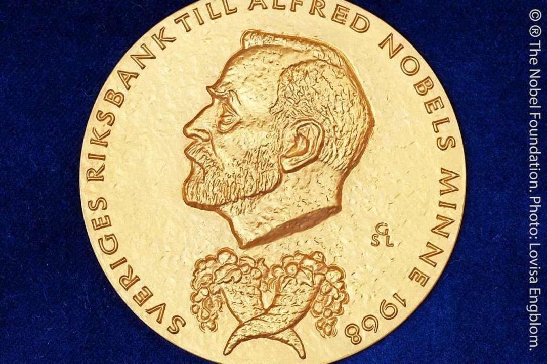 Die goldene Medaille wird vergeben.  | Foto: Lovisa Engblom (dpa)