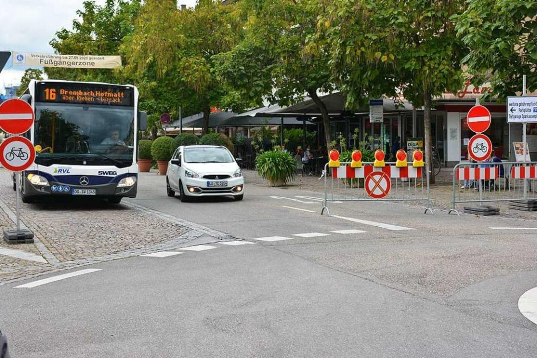 Die Einbahnstraßen-Regelung schneidet ... der Befragten hingegen schlechter ab.    Foto: Hannes Lauber