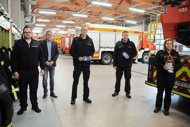 Der neue Schopfheimer Feuerwehrkommandant brennt für seinen Job