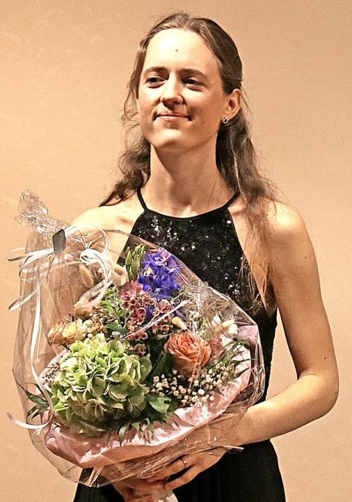 Gabriela Fahnenstiel begeisterte mit  ...on Clara Schumann  und Louise Farrenc.  | Foto: Dorothée Kuhlmann
