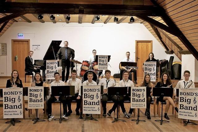 Bond's Big Band beim Lions Club in Schliengen