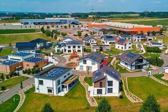 In Kappel-Grafenhausen sollen 15 Musterhäuser für 15 Millionen Euro entstehen