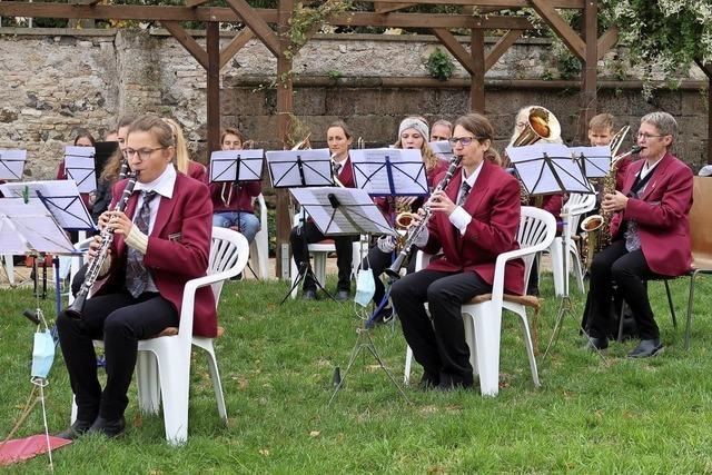 Flotter Groove im Klostergarten