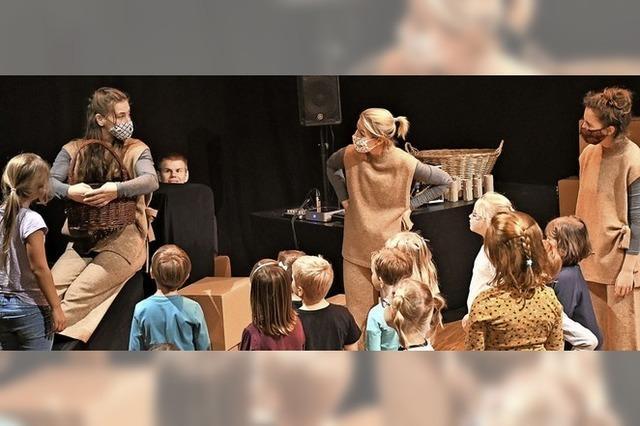 Tempus fugit erweitert den Radius ins Kindertheater