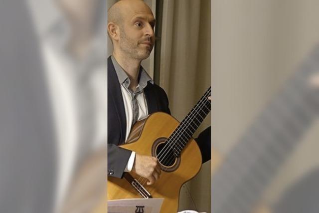 Große Oper mit der Konzertgitarre