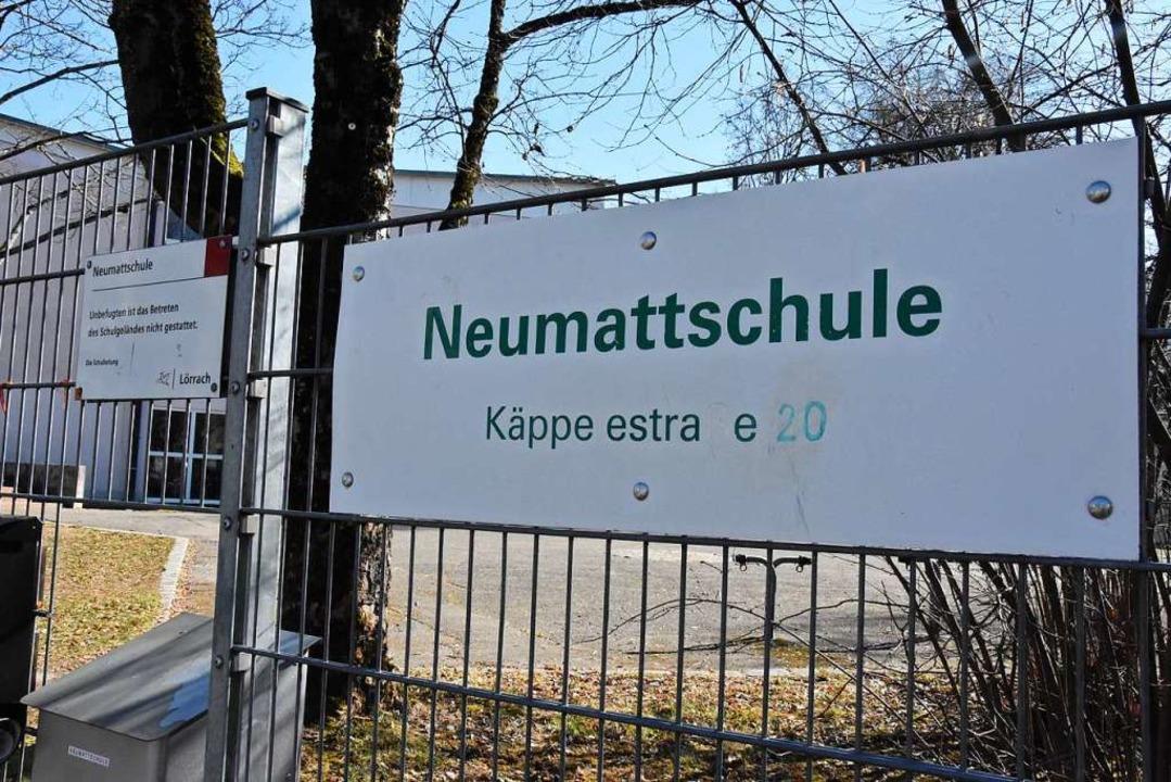 Die Neumattschule an der Käppelestraße    Foto: Kathrin Ganter