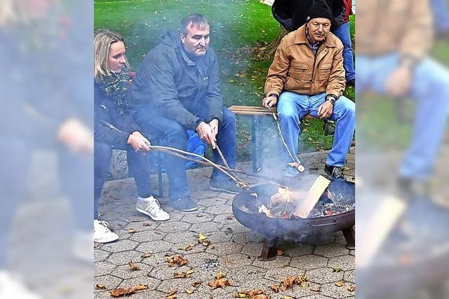 Suppenkasper am Lagerfeuer