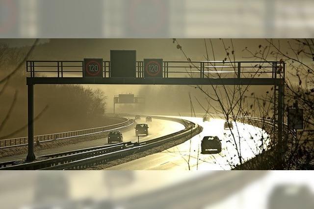 Autobahnbrücke an der A 98