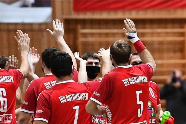 In der Südbadenliga der Männer kann der TV Herbolzheim beim TuS Oberhausen wieder einmal nicht gewinnen