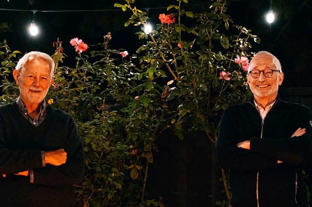 Robert Wilson (l.) und Paul Milgrom, die beiden Preisträger    Foto: ANDREW BRODHEAD (AFP)