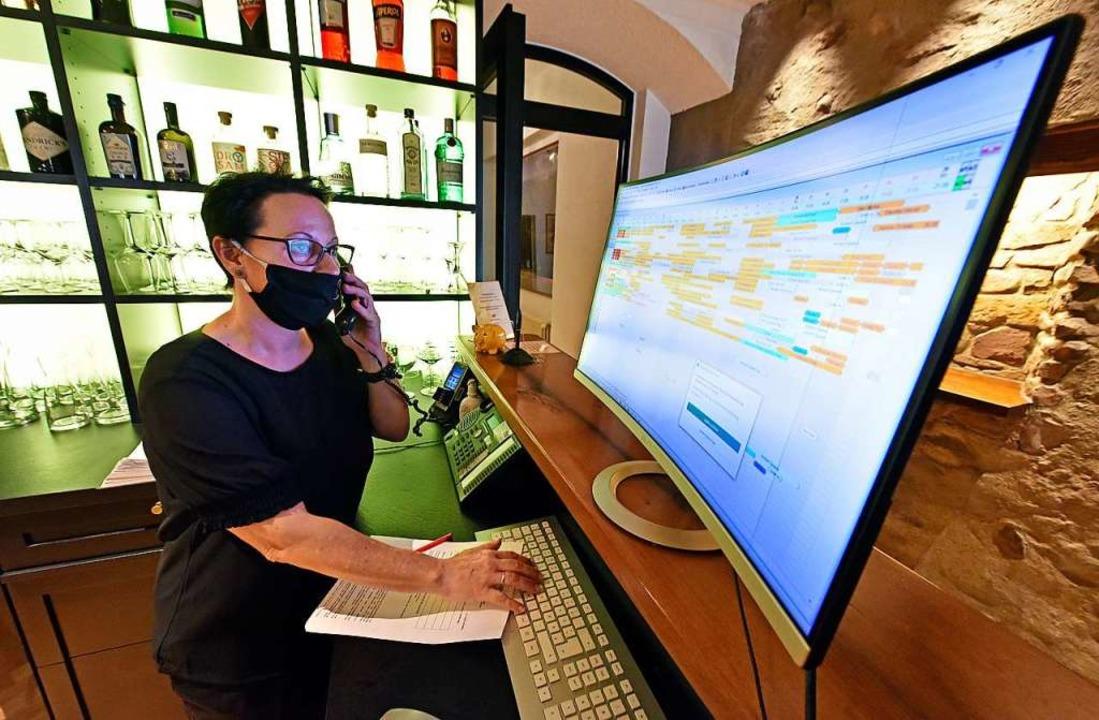 Die Telefone stehen in vielen Hotels n...l – die Gäste sind verunsichert.    Foto: Michael Bamberger