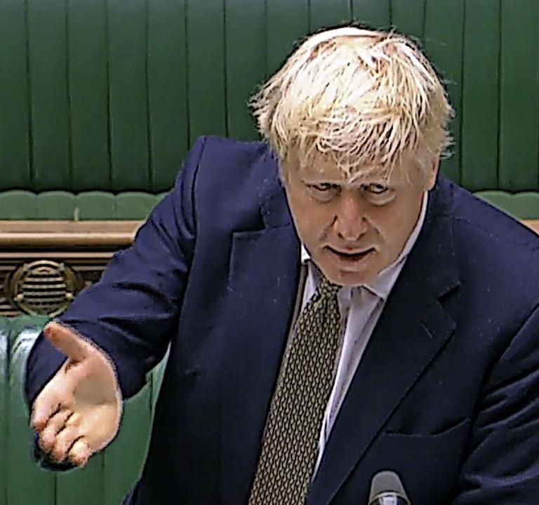 Premierminister  Boris Johnson  | Foto: - (AFP)