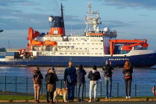 Die Polarstern ist zurück von ihrer Expedition in die Arktis