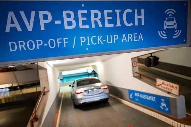 Stuttgarter Flughafen-Parkhaus wird zum Testfeld für autonomen Verkehr