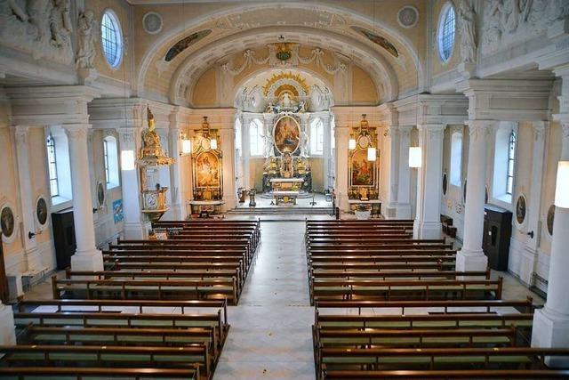 Die St. Josefskirche in Rheinfelden vereint mehrere Baustile in sich