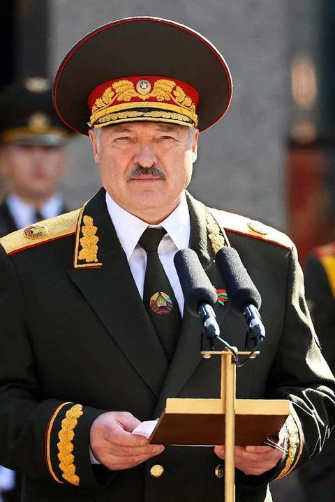 Alexander Lukaschenko  | Foto: Maxim Guchek (dpa)