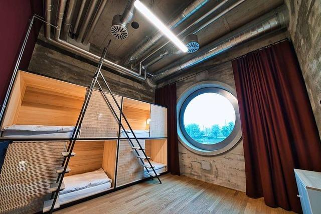 In diesem Basler Hostel kann man im ehemaligen Getreidesilo schlafen