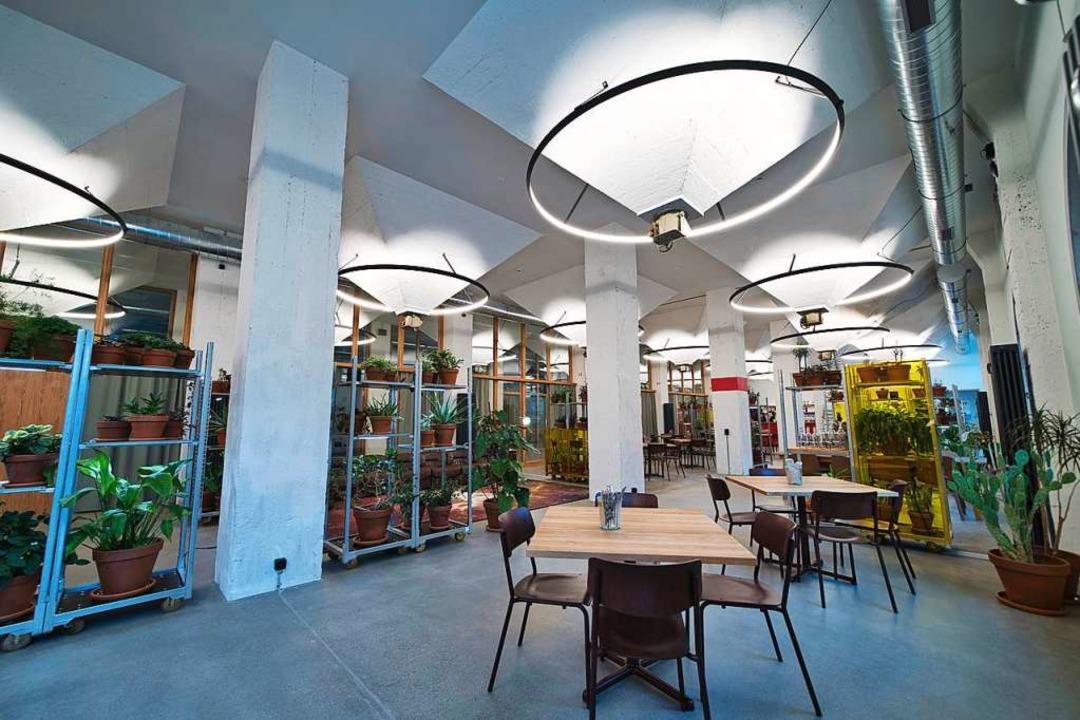 Die Auslasser des früheren Silos an de... des Restaurants sind gut zu erkennen.  | Foto: marc gilgen