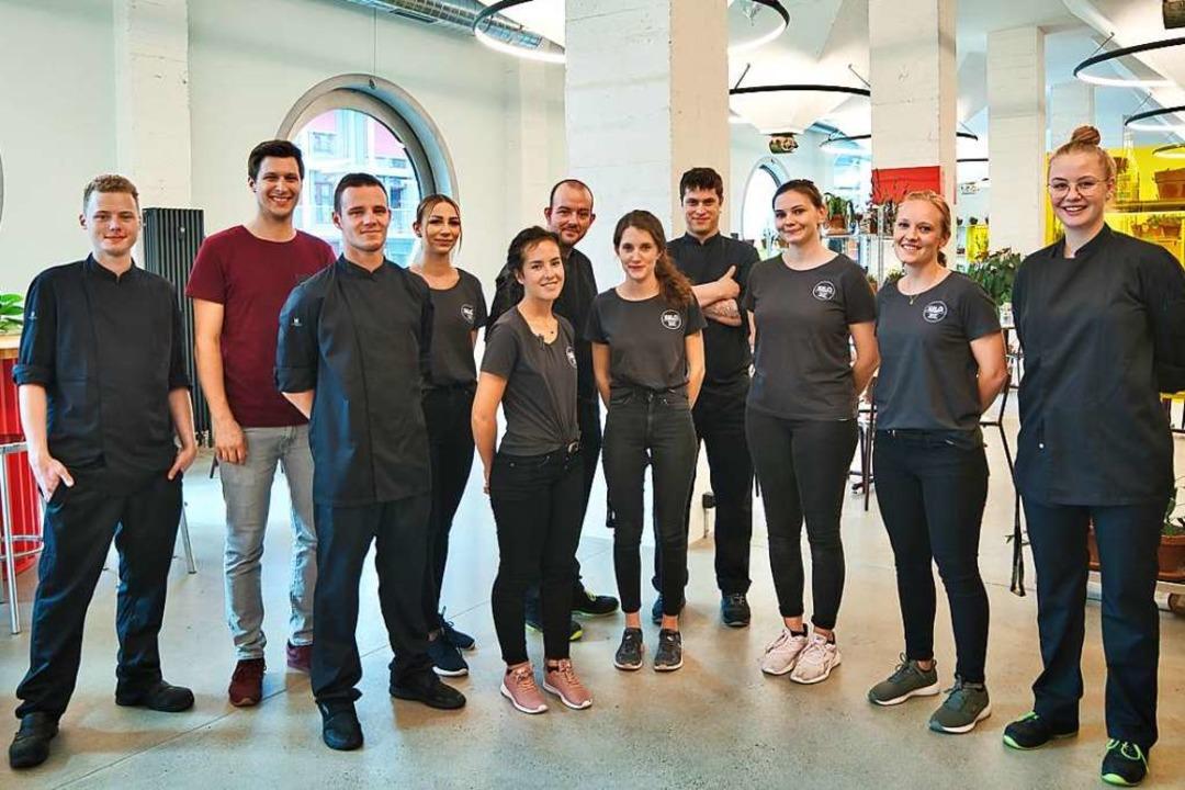 "Das Team des ""Silo by Talent""  | Foto: marc gilgen"