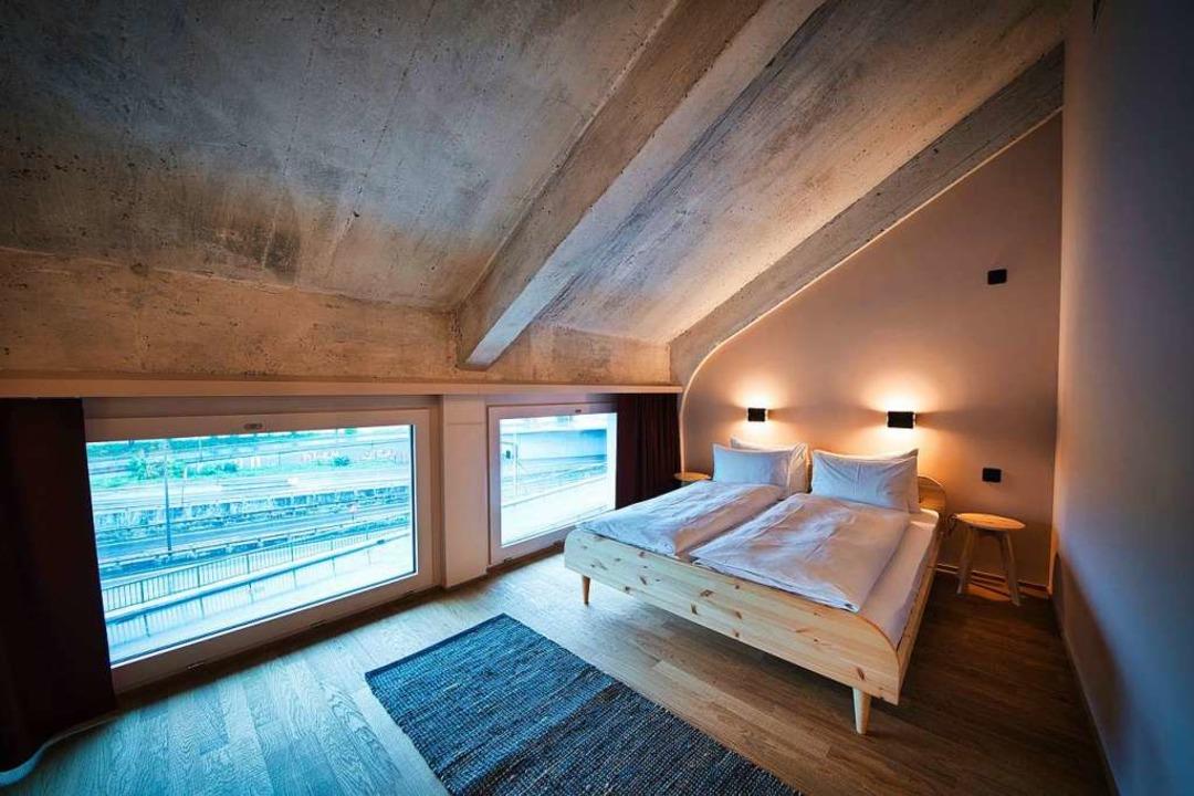 Im obersten Geschoss sind die Doppelzimmer untergebracht.  | Foto: marc gilgen