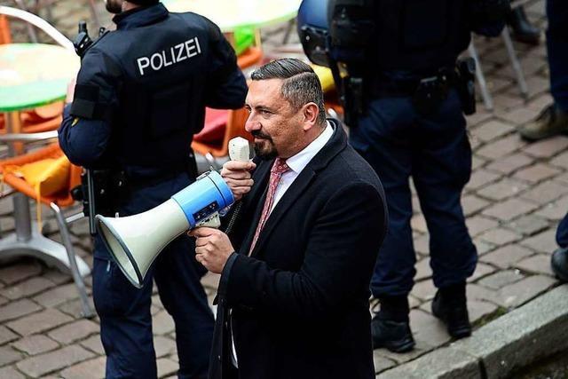 Wieder Wirbel um den Freiburger AfD-Stadtrat Dubravko Mandic