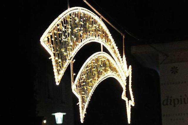 In Bad Krozingen gibt's Festbeleuchtung statt Weihnachtsmarkt