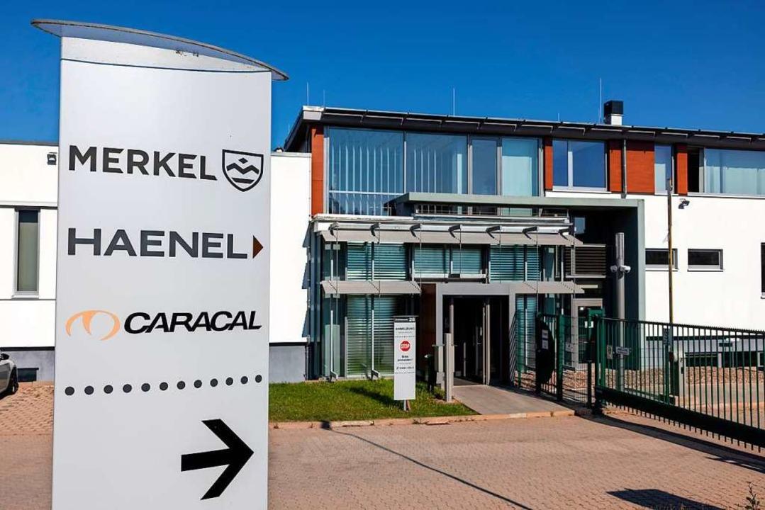 Der Sitz der Firma Haenel in Suhl  | Foto: Michael Reichel